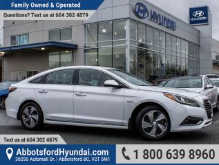 Used 2017 Hyundai Sonata Plug-In Hybrid Ultimate ONE OWNER & GREAT CONDITION for sale in Abbotsford, BC