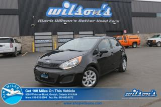 Used 2014 Kia Rio LX+ HATCHBACK! HEATED SEATS! AUTOMATIC! CRUISE CONTROL! POWER PACKAGE! KEYLESS ENTRY! for sale in Guelph, ON