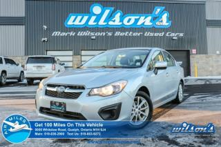 Used 2014 Subaru Impreza 2.0i TOURING AWD! HEATED SEATS! BLUETOOTH! CRUISE CONTROL! POWER PACKAGE! KEYLESS ENTRY! ALLOYS! for sale in Guelph, ON