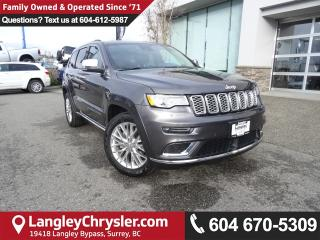 Used 2017 Jeep Grand Cherokee Summit *ACCIDENT FREE * LOCAL BC SUV* for sale in Surrey, BC