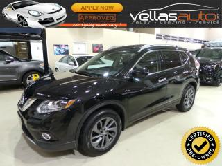 Used 2016 Nissan Rogue SL PREMIUM| AWD| NAVI| LEATHER| PANO ROOF for sale in Woodbridge, ON