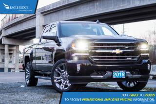 New 2018 Chevrolet Silverado 1500 2LZ Backup Camera, Nav, Lane Departure Warning for sale in Port Coquitlam, BC