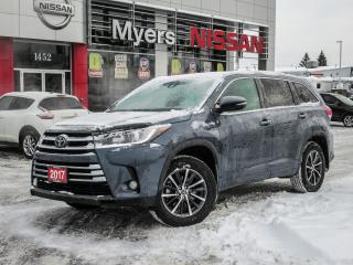 Used 2017 Toyota Highlander XLE, AWD, LEATHER, NAVIGATION, SUNROOF, BACK UP CAMERA for sale in Orleans, ON