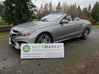 Used 2014 Mercedes-Benz E350 E350 CABRIOLET, LOADED, INSP, WARR for sale in Surrey, BC