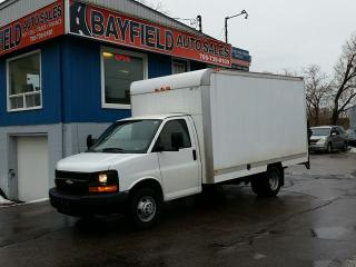Used 2009 Chevrolet Express 3500 14' Cube Van **Rear Hydraulic Lift/Only 53k!!** for sale in Barrie, ON