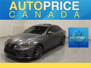 Used 2015 Lexus IS 250 AWD NAVI F-SPORT LEATHER for sale in Mississauga, ON