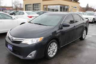 Used 2014 Toyota Camry XLE LEATHER SUNROOF LOADED for sale in Brampton, ON