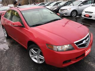 Used 2004 Acura TSX Auto / Leather / Sunroof / Alloys / Loaded!! for sale in Scarborough, ON