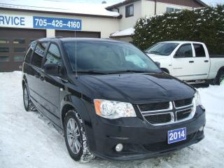 Used 2014 Dodge Grand Caravan 30th Anniversary, Stow N Go , Leather for sale in Beaverton, ON