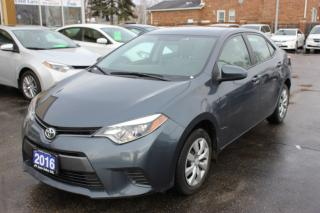 Used 2016 Toyota Corolla LE Bluetooth Heated Seats for sale in Brampton, ON
