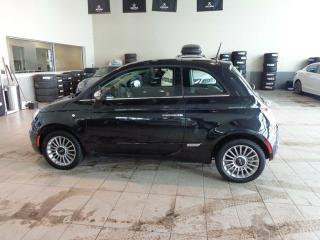 Used 2012 Fiat 500 Lounge - Heated Leather, Sunroof + Bluetooth! for sale in Red Deer, AB