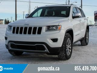 Used 2014 Jeep Grand Cherokee Limited 4X4 FULL LOAD BRAND NEW TIRES ACCIDENT FREE for sale in Edmonton, AB