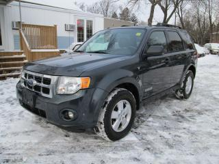 Used 2008 Ford Escape XLT for sale in Scarborough, ON