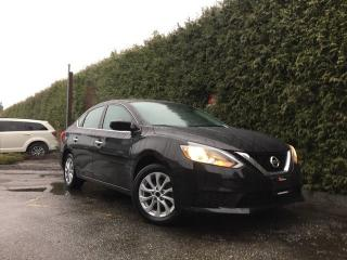 Used 2017 Nissan Sentra 1.8 SV + SUNROOF + HEATED FT SEATS + BACK-UP CAMERA + ALLOYS for sale in Surrey, BC