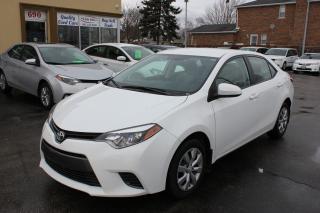 Used 2016 Toyota Corolla LE for sale in Brampton, ON