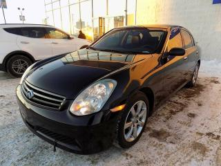 Used 2006 Infiniti G35X AWD/LEATHER/SUNROOF/BOSE AUDIO for sale in Edmonton, AB