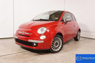 Used 2012 Fiat 500 Lounge Man 5 Vit for sale in Laval, QC