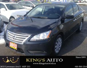 Used 2013 Nissan Sentra S, BLUETOOTH CONNECTIVITY for sale in Scarborough, ON