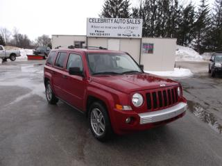 Used 2007 Jeep Patriot Limited 4X4 LIMITED for sale in Elmvale, ON