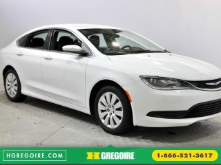 Used 2015 Chrysler 200 Lx Uconnect for sale in Saint-leonard, QC