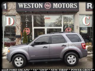 Used 2008 Ford Escape *V6*AWD*NEW TIRES*POWER GROUP* for sale in York, ON