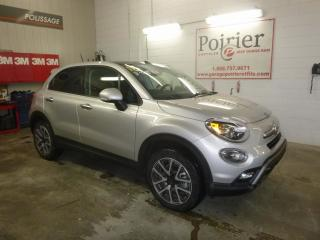 Used 2016 Fiat 500 X Trekking Plus Ti for sale in Val-D'or, QC