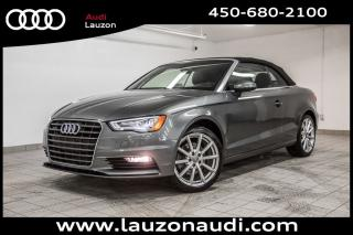 Used 2015 Audi A3 Cabriolet Komfort for sale in Laval, QC