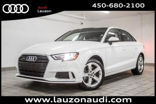 Used 2017 Audi A3 2.0T Komfort quattro for sale in Laval, QC