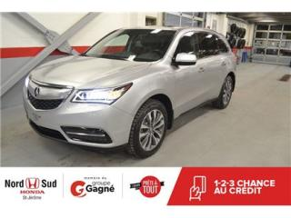 Used 2014 Acura MDX Navigation at for sale in St-Jérôme, QC