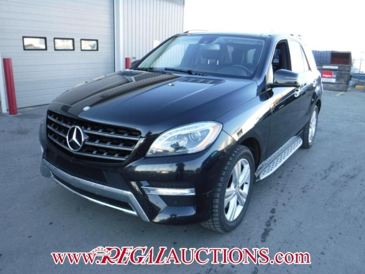 Photo of Black 2013 Mercedes-Benz M-CLASS ML350 BLUETEC 4D UTILITY 3.0L AWD