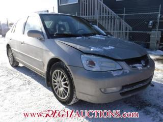 Used 2001 Acura EL  4D SEDAN for sale in Calgary, AB