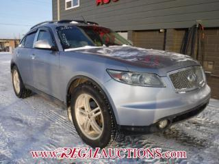 Used 2003 Infiniti FX45  SUV 4WD for sale in Calgary, AB