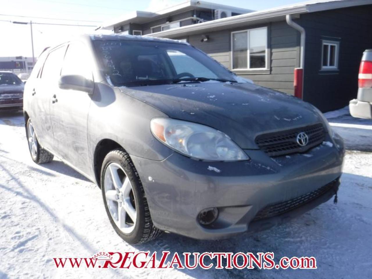 Photo of Grey 2007 Toyota Matrix