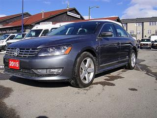 Used 2015 Volkswagen Passat 2.0 TDI, Leather, Sunroof, Camera for sale in Aurora, ON