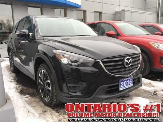 Used 2016 Mazda CX-5 GT AWD,LEATHER, SUNROOF,NAV,REVERSE CAM-TORONTO for sale in North York, ON