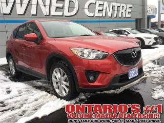 Used 2014 Mazda CX-5 GT AWD,LEATHER, SUNROOF,NAV,REVERSE CAM-TORONTO for sale in North York, ON