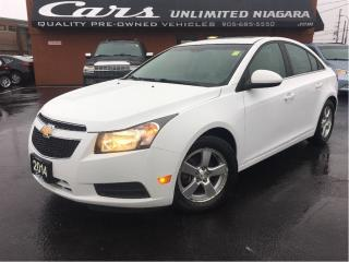 Used 2014 Chevrolet Cruze 2LT | 6 SPEED | for sale in St Catharines, ON