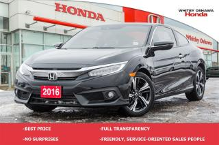 Used 2016 Honda Civic Touring for sale in Whitby, ON