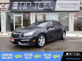 Used 2015 Chevrolet Cruze 1LT ** RS Pkg, Manual, Sunroof, Backup Cam ** for sale in Bowmanville, ON