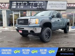 Used 2009 GMC Sierra 1500 SLE ** Lifted, 4x4, Dual Exhaust, Rims+Tires ** for sale in Bowmanville, ON