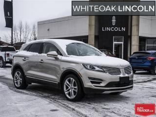 Used 2015 Lincoln MKC RESERVE, 2.3l, roof, navi, blis, warr to 2021 for sale in Mississauga, ON