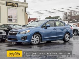 Used 2014 Subaru Impreza 2.0i for sale in Ottawa, ON