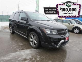 Used 2017 Dodge Journey Crossroad - AWD, Back Up Cam, Heated Seats for sale in London, ON