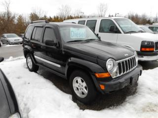 Used 2006 Jeep Liberty LTD! DIESEL! AS IS! RARE FIND! for sale in Aylmer, ON