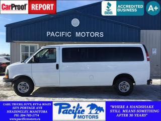 Used 2015 GMC Savana 3500 1LT *Cruise* Price Reduced for sale in Headingley, MB