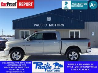 Used 2010 Dodge Ram 1500 Sport*390hp Hemi*4x4*Crew*Financing Available for sale in Headingley, MB