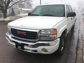 Used 2006 GMC SIERRA 1500HD SLE2  4X4  CREW for sale in Belmont, ON