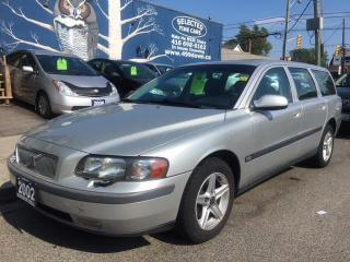 Used 2002 Volvo V70 for sale in Scarborough, ON