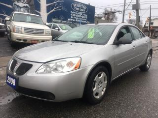Used 2008 Pontiac G6 for sale in Scarborough, ON