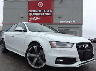 Used 2015 Audi S4 3.0T Technik|NAV|ROOF|BLIND SPOT|AWD|BACK UP for sale in Georgetown, ON